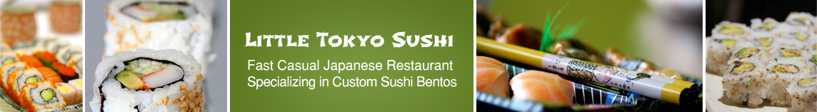 Welcome to Little Tokyo Sushi